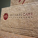 Kraft Letterpress Business Card - Michael Carr