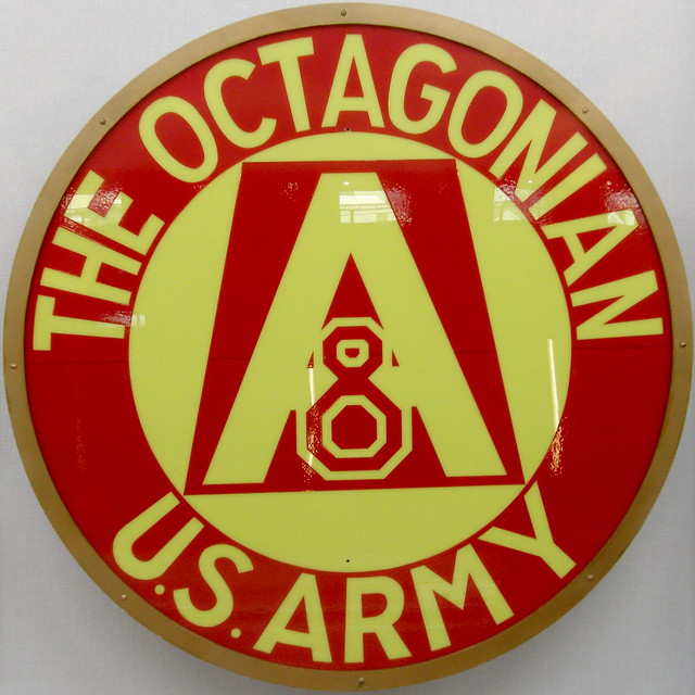 Photo:#1403 The Octagonian (US Army) head plate By Nemo's great uncle
