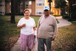 Old couple via film