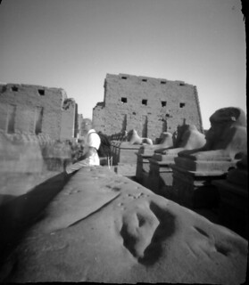 Temple of Karnak, Luxor, Egypt - pinhole photo_3