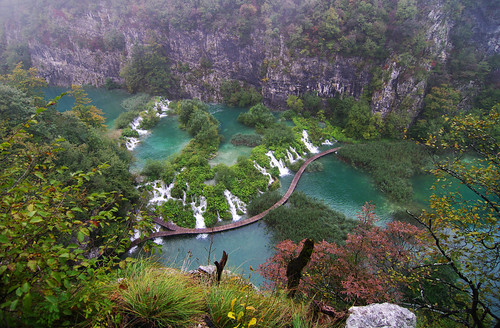 First view of Plitvice