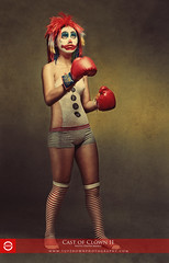 """Cast of Clown II- """"The Boxer"""" by dheadconcepts"""