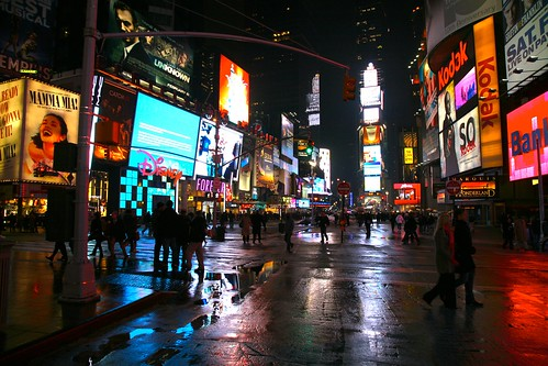 New York City, Manhattan, Theatre District, Times Square