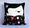 goth girl cushion
