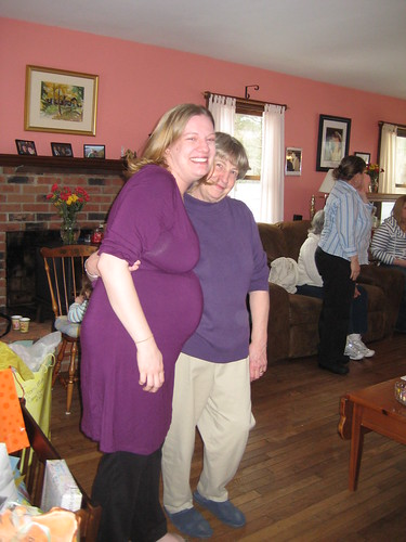 Baby Shower - Me and Mom