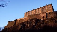 Edinburgh Castle, spring sunset 02