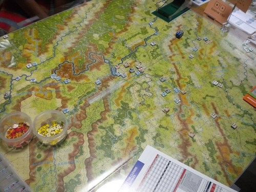 Battle Above the Clouds - Turn 8 almost ends by Toshi Takasawa, on Flickr