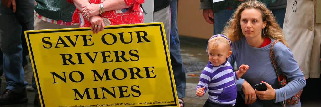 Save Our Rivers - No More Mines