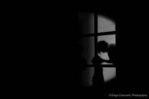 blackandwhite bw white black silhouette blackwhite conceptual luce controluce buio vetro dcimage vitainbiancoenerobook2014