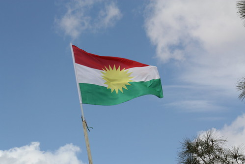 Kurdish flag | by wgauthier
