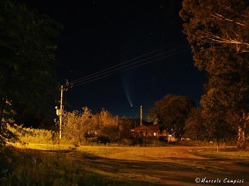 Cometa McNaught - Cordoba 21 de enero de 2007