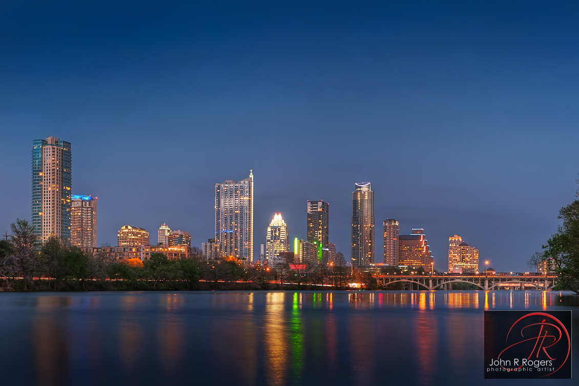 2011 Austin Skyline Reflection