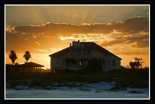 sunset beach florida capecanaveral d200 topazadjust