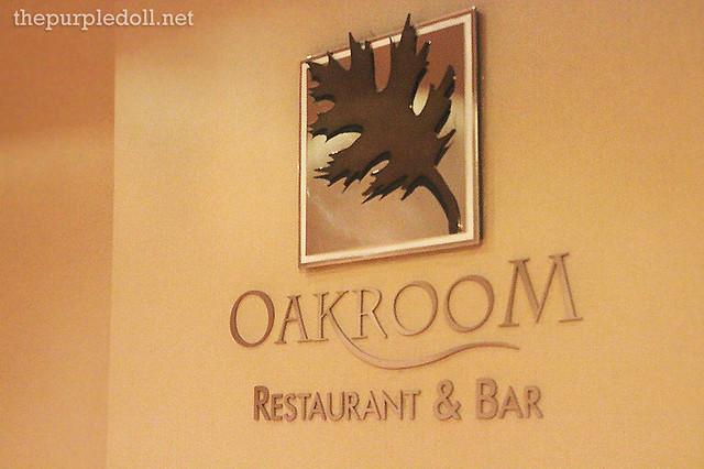 Oakroom Restaurant & Bar at Oakwood Premier Joy Nostalg Center Manila