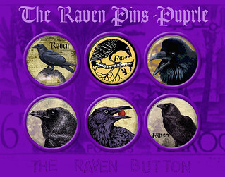 Raven Button Design