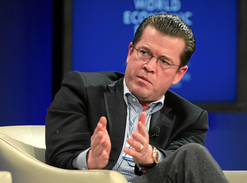 Karl-Theodor Freiherr zu Guttenberg - World Economic Forum Annual Meeting 2011