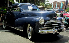 automobile, automotive exterior, vehicle, custom car, chevrolet fleetline, mid-size car, plymouth deluxe, compact car, antique car, classic car, vintage car, land vehicle, luxury vehicle, motor vehicle,