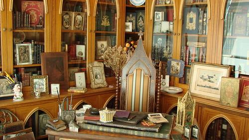 Musée du Livre et des Lettres Henri Pollès - Le bureau romantique