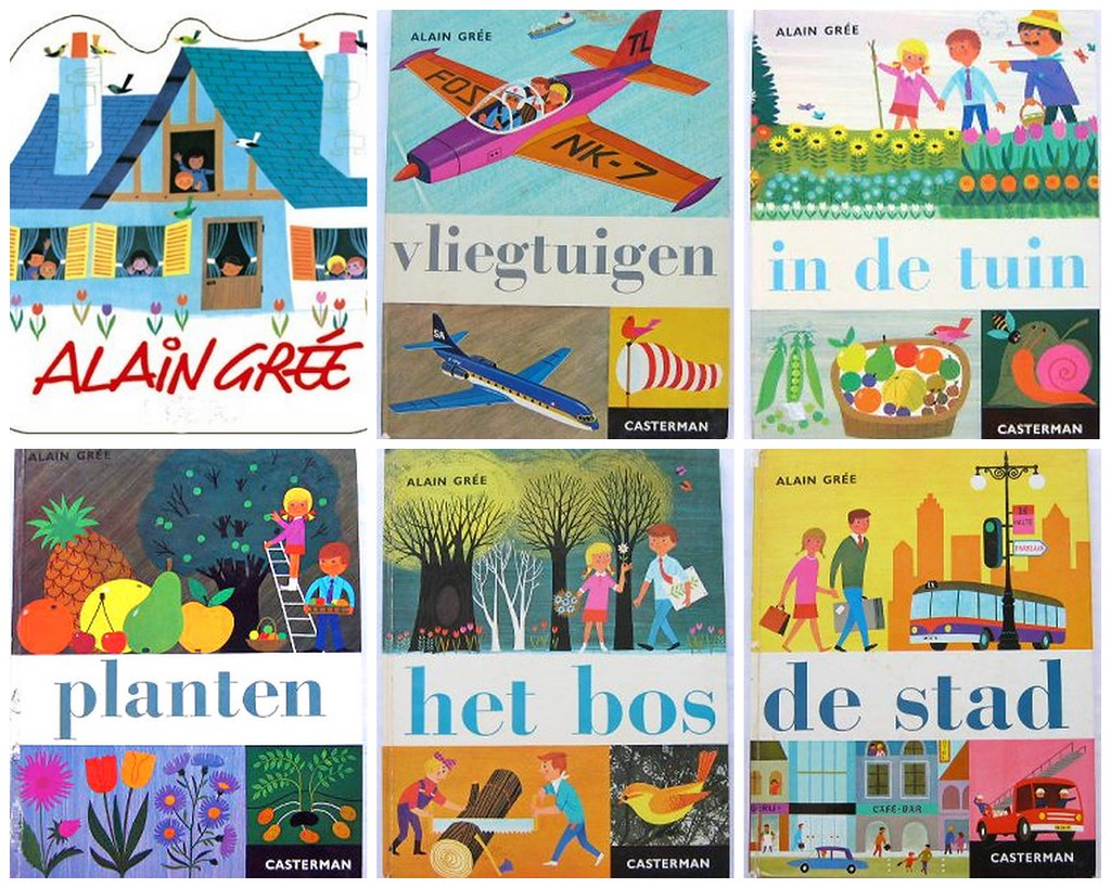 alain gree dutch books from the 60s