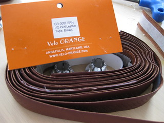 Velo Orange Leather Bar Tape on Review