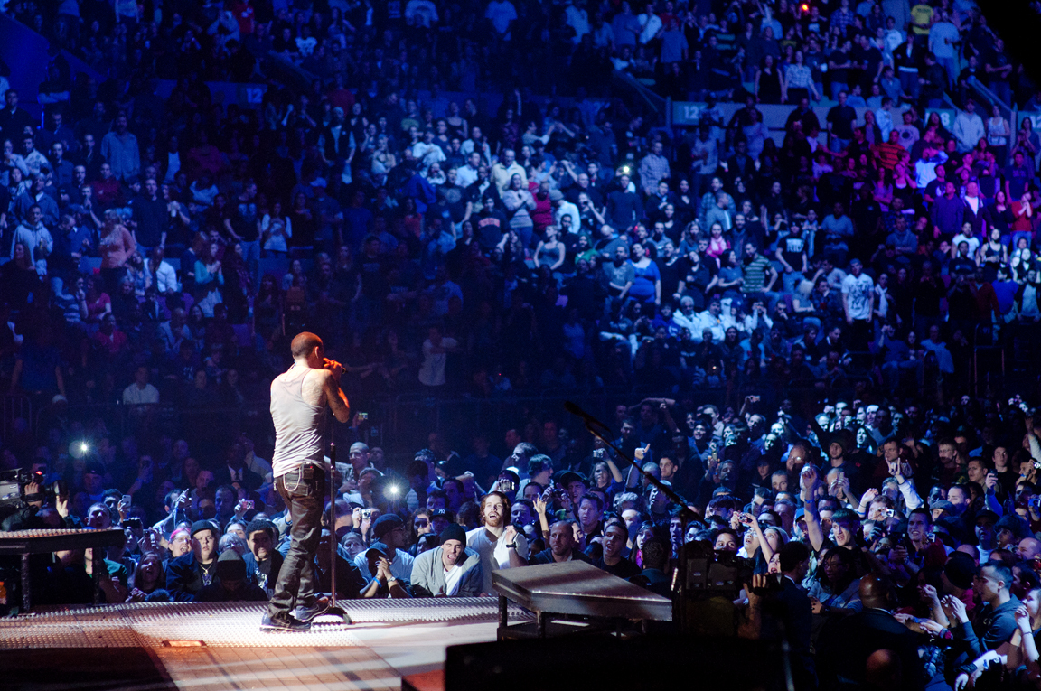 Photos Linkin Park Live At Madison Square Garden A Thousand Suns World Tour The Artistree
