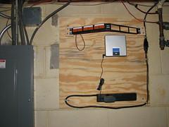 Network Wiring Closet - Initial Setup