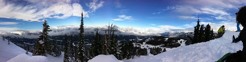 Today on the Mountain at Whistler
