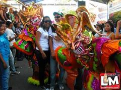 Tercer domingo del Carnaval Mocano, un derroche de colorido