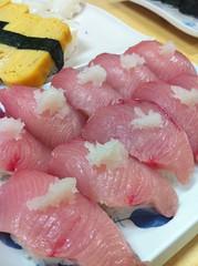 sashimi, fish, red meat, food, dish, cuisine,