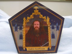 "Mar 02 2011 [Day 121] Bonus ""Chocolate Frog Collectible Wizard Card (Front)"""