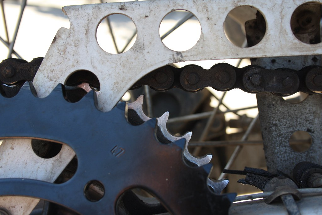 Time for a new sprocket