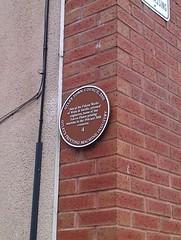 Photo of Brown plaque № 6300