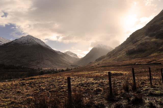 Scottish Highlands - Flickr CC brunoleveque