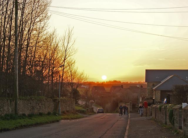 Sunset Over High Hauxley