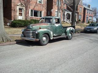 1951 Chevrolet 3100 1/2 Ton
