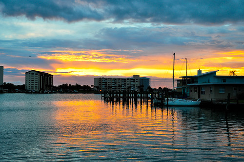 vacation beach sunrise florida clearwater d90