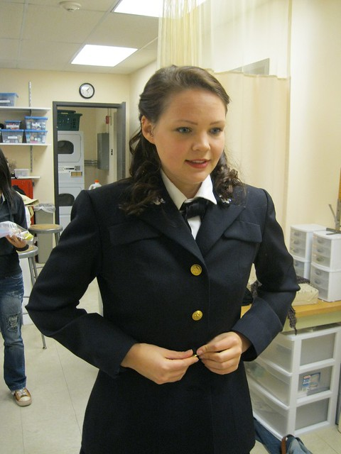 WWII Navy Waves Uniform