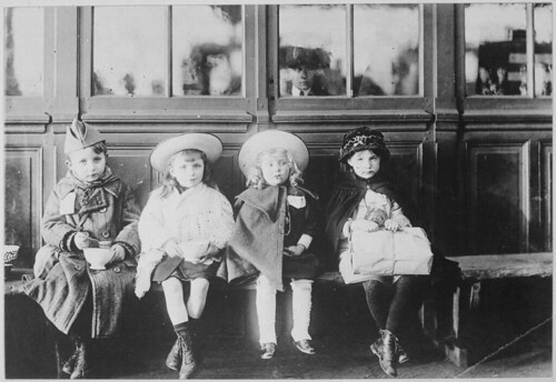 French Refugee Children. by The U.S. National Archives