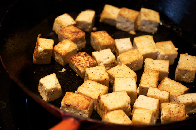 Perfectly Browned Tofu