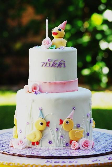 Birthday Cake Images With Name Nikki : Nikki s 1st Birthday Cake Flickr - Photo Sharing!