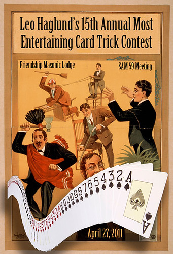Leo Haglund's 15th Annual Most Entertaining Card Trick Contest