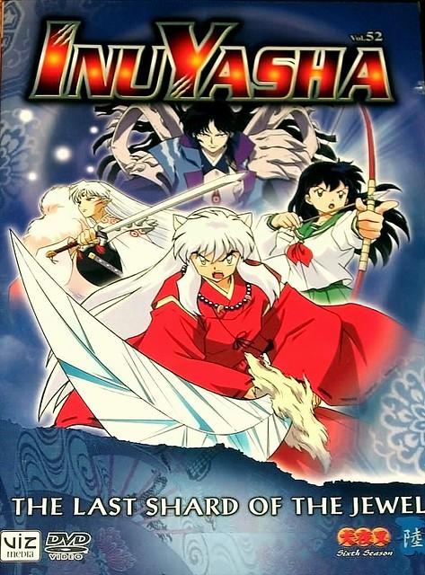 inuyasha dvds: