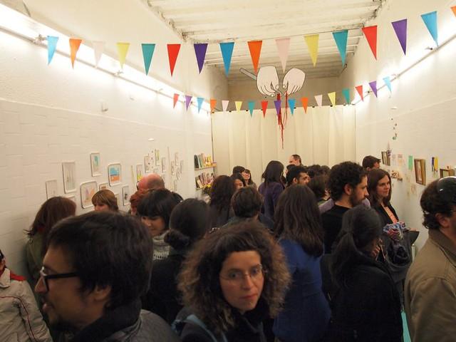 Inauguración expo Miju Lee en Duduá
