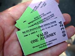 Box Hill Miniature Railway tickets