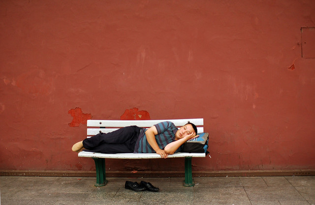 Siesta in Beijing