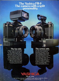 Yashica FR-I :The camera with a split personality