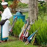 Umbrella Salesman - Bali, Indonesia