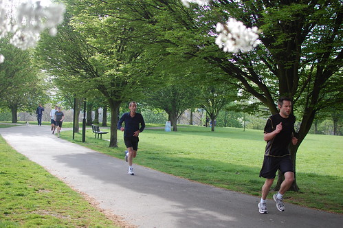 Hilly Fields parkrun 12-April-2014