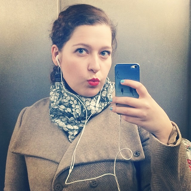 #elevatorselfie #lip #redlip #mac #macladydanger #ladydanger #friday #tgif #selfshot #selfie #lookbook #lookoftheday #ootd #face #fotd