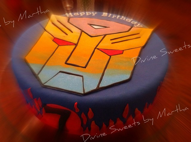 Transformers Cake Torta De Flickr Photo Sharing